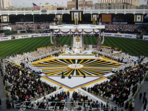 Papal Mass Yankee Stadium